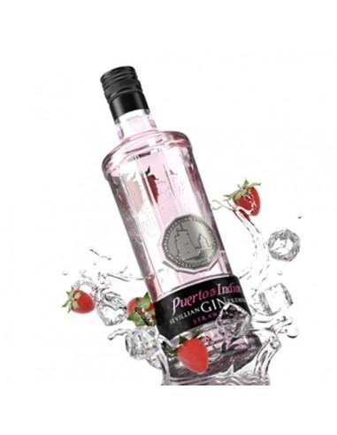 Gin puerto de indias strawberry 70cl - Puerto de indias strawberry gin ...