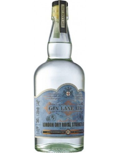 GIN LANE 1751 DRY ROYAL STRENGTH 70CL