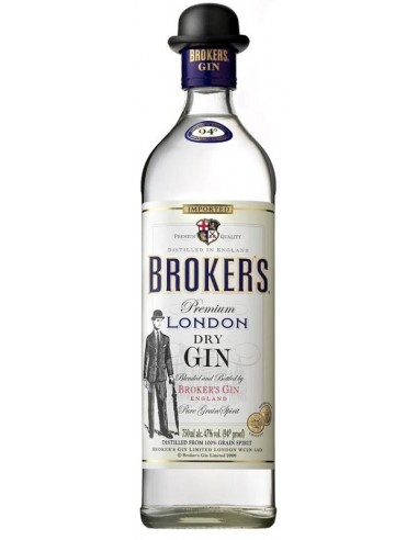 GIN BROKERS 70CL