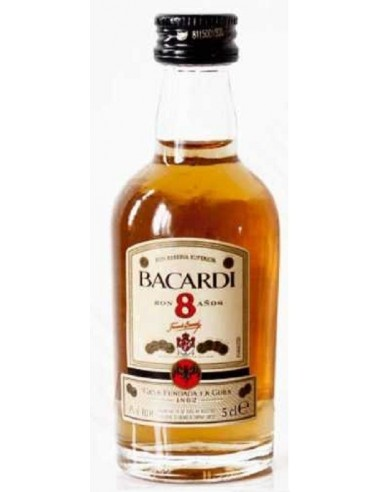 RON BACARDI 8 AÑOS 5CL Mini